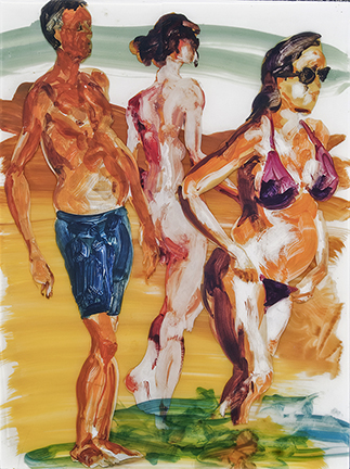 Eric Fischl Collage